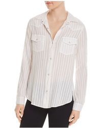 Bailey 44 - Stampede Snap-sleeve Shirt - Lyst