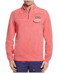 Vineyard Vines - Pigment Dyed Pocket Sweatshirt - Lyst