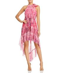 Elie Tahari - Primrose Flower Petal-print Silk Dress - Lyst
