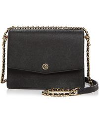 Tory Burch - Robinson Convertible Leather Shoulder Bag - Lyst