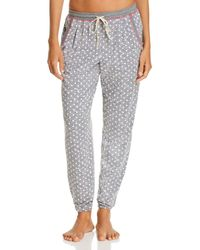 Jane & Bleecker New York - Printed Knit Jogger Pants - Lyst