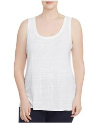 Eileen Fisher - System Scoop Neck Tank - Lyst