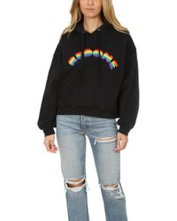RE/DONE - Rainbow Embroidery Hoody - Lyst