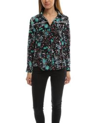 The Kooples - Botanic Silk Shirt - Lyst