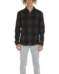 IRO - Orion Flannel Shirt - Lyst
