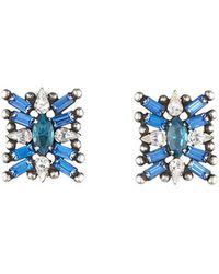 DANNIJO - Dannijo Azul Earrings - Lyst