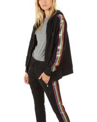 Baja East - Rainbow Zip Hoody - Lyst