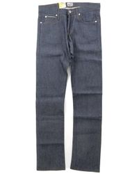 Naked & Famous - Skinny Guy In Raw Blue - Lyst