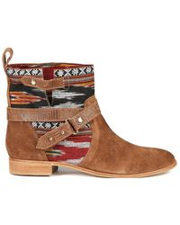 Cynthia Vincent - West Ikat Engineer Boot - Lyst