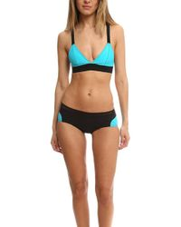 Rag & Bone - Fiji Bluebird Bikini Top - Lyst