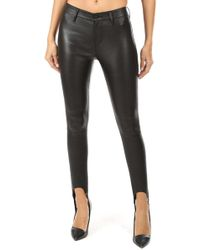 RTA - Lincoln Stirrup Skinny Pants - Lyst