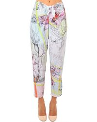 Clover Canyon - Floral Line Drawing Pant - Lyst