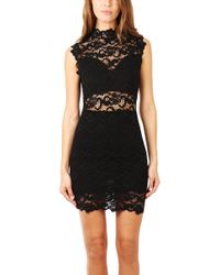 Nightcap - Dixie Lace Mini Dress - Lyst