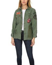 Madeworn Rock - Madeworn Rolling Stones Sequin Army Jacket - Lyst