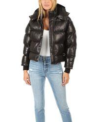 IRO - Collyn Leather Puffer Coat - Lyst