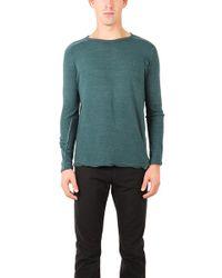 V :: Room - Crewneck Long Sleeve Shirt - Lyst