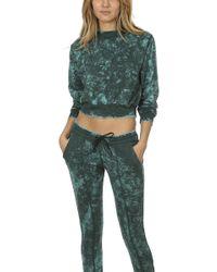 Cotton Citizen - Milan Crop Sweatshirt - Lyst