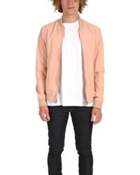 President's - Suede Bomber - Lyst