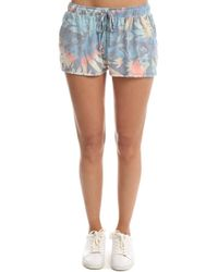 Sol Angeles - Orchid Garden Knit Short - Lyst