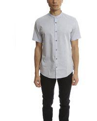 Vince   Melrose Collar Shirt   Lyst