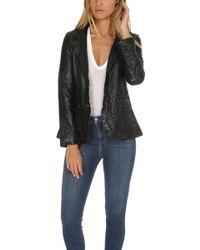 Smythe - Washed Leather Blazer - Lyst