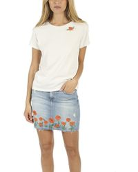 Mother - The Boxy Goodie Goodie Tee - Lyst