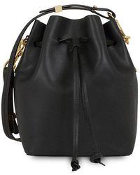 Sophie Hulme - Nelson Mini Leather Shoulder Bag - Lyst