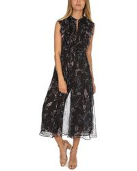 12ceb076c0 Zimmermann Havoc Floating Layer Playsuit in Blue - Lyst