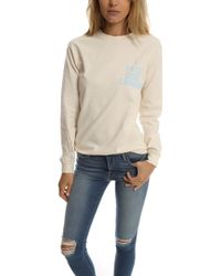 Blue & Cream - Feel Like Lampin Ls Crewneck - Lyst