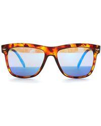 Spektre - Reflective Wayfarer Sunglasses - Lyst