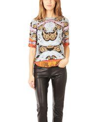 Twelfth Street Cynthia Vincent - Shirt Tail Tee - Lyst