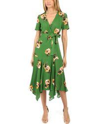 A.L.C. - Cora Floral Wrap Dress - Lyst