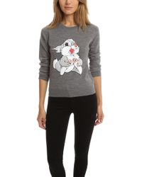 Markus Lupfer - Thumper Sequin Grace Sweater - Lyst