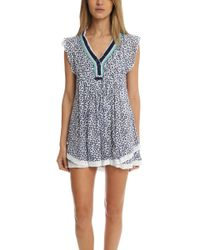 Poupette - Sasha Mini Dress - Lyst