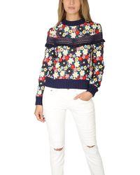 Sea - Multicolor 3d Lace Sweatshirt - Lyst