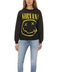 Madeworn Rock - Madeworn Nirvana Fleece Sweatshirt - Lyst