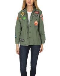 Madeworn Rock - Madeworn Grateful Dead Army Jacket - Lyst