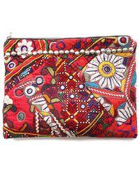 Simone Camille - Vintage Textile Clutch - Lyst