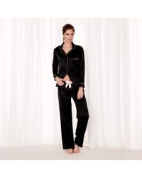 Bluebella - Claudia Shirt And Trouser Black - Lyst