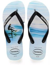 Havaianas - Wave Hype Flip Flops - Lyst