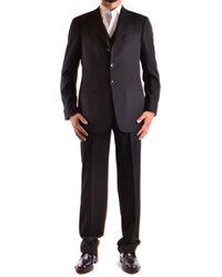 Armani - Men's Mcbi024047o Black Viscose Suit - Lyst