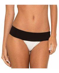 Lenny Niemeyer | Bicolor Runway Bikini Bottom | Lyst