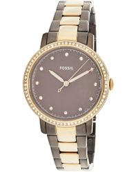 Fossil - Neely Es4300 Stainless-steel Japanese Quartz Fashion Watch - Lyst