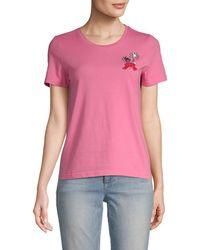 Manoush - Embellished T-shirt - Lyst