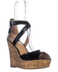 44bc1342720 Material Girl - Mg35 Steffy Peep Toe Platform Wedge Sandals