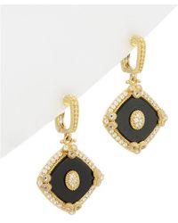 Judith Ripka - 14k Over Silver 6.54 Ct. Tw. Gemstone Drop Earrings - Lyst