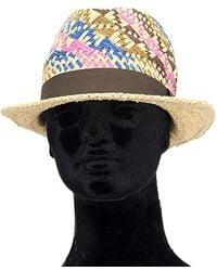 La Fiorentina - Straw Hat - Lyst