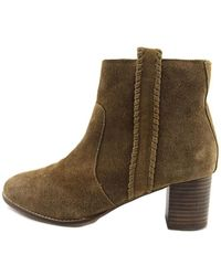 Matisse - Womens Trina Leather Almond Toe Ankle Fashion Boots - Lyst