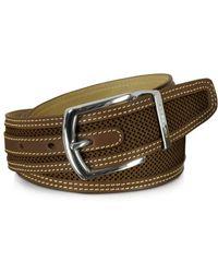 Moreschi - Men's Brown Leather Belt - Lyst