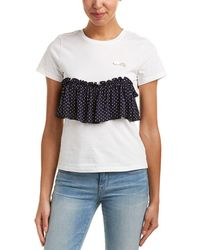 Romeo and Juliet Couture - Ruffle Top - Lyst